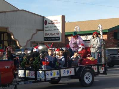 Kingston Christmas parade