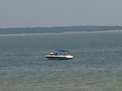 Boating and fishing at Lake Texoma